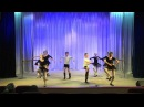 фрагменты урока по хореографии. 5 класс. Народный танец. 2016г.