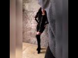 "⚜️ Olga Buzova Design ⚜️ on Instagram: ""На Олечке  @buzova86 платье на молнии артикул: #Д316  Размер: 40 / 42 / 44 / 46  Цвет: чёрный.  Ткань: плот..."