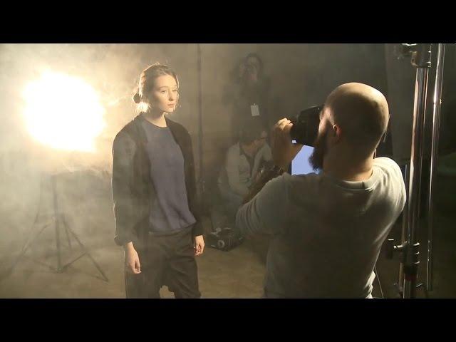 Съемка с дымом. Психологический портрет. Мастер-класс по фотографии от Фотоколледжа. Фотошкола