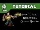 Games Workshop Tutorial: How To Paint Necromunda Goliath Gangers (Yellow Scheme)