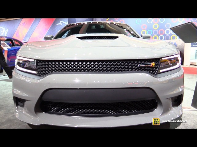 2018 Dodge Charger RT Scat Pack HEMI 392 Exterior and Interior Walkaround 2017 LA Auto Show