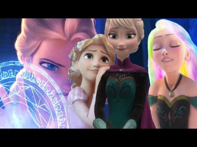 Эльза и Рапунцель|Колыбельная принцессы|Elsa and Rapunzel|Lullaby for a Princess