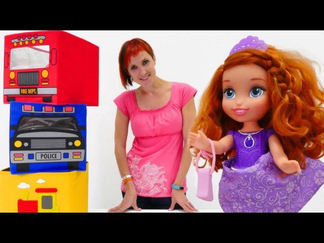 Салон красоты для кукол: Барби и София - Полный порядок Капуки Кануки - Серия 8
