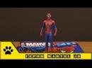 Герои MARVEL 3D выпуск №1, журнал и фигурка Человека-паука от Centauria