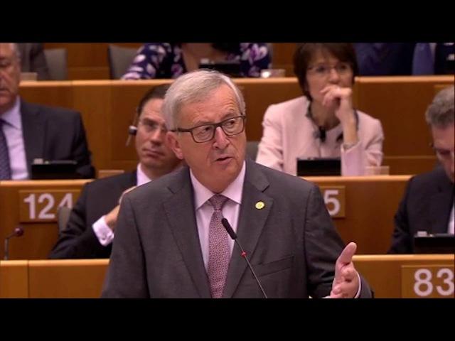 Juncker verwirrt: EU-Kommissionschef faselt im Parlament von Außerirdischen