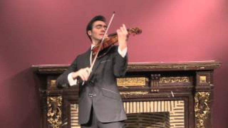 Le Stradivarius le plus cher du monde joue une suite de Bach