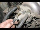 Как почистить дроссель ВАЗ 2123 Шевроле Нива? Снятие и чистка дросселя!