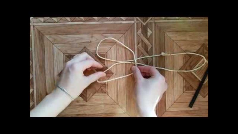 Дочкино кино ( Ручки из веревки для ПЭТ бутыля ) Rope handles