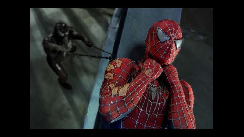 Hombre Araña vs Venom y Hombre Arena HD TYC