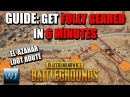 GUIDE Get FULLY GEARED in just 6 minutes El Azahar Loot Route PUBG