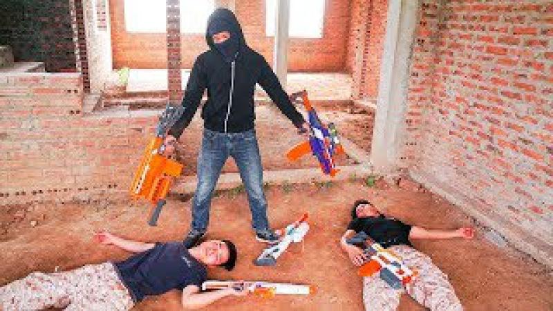Superhero Action S.W.A.T Infantry Nerf guns Assassin Ninja Rescue Dandy Nerf war