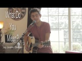 Justin Bieber - What Do You Mean (Cover by Kyson Facer)