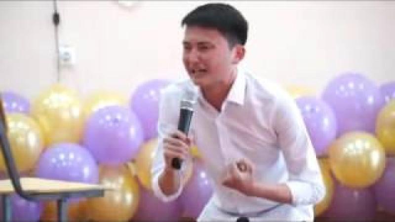 Асқар Теміржан монолог көпшілікті жылатқан видео 2016