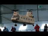 GIANT RC CH-47 CHINOOK FROM VARIO INDOOR FLIGHT  Intermodellbau Dortmund 2015