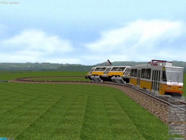 OpenBve metró vonat villamos hév és R142A káosz