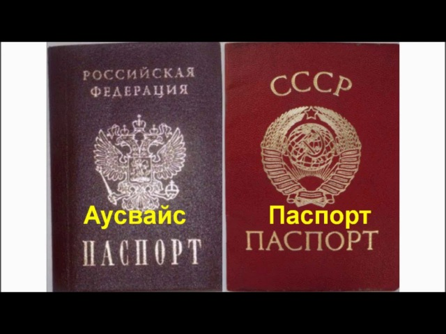 Цветной блокнот Паспорт РФ - это подделка под Паспорт СССР