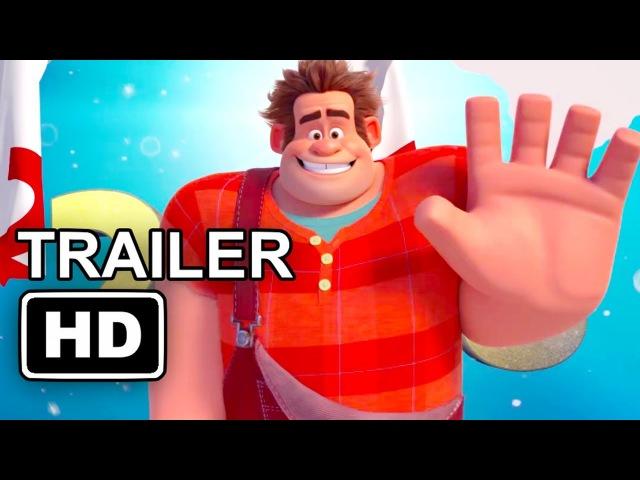 WRECK-IT RALPH 2 New Year Trailer (2018) Disney Animated Movie HD