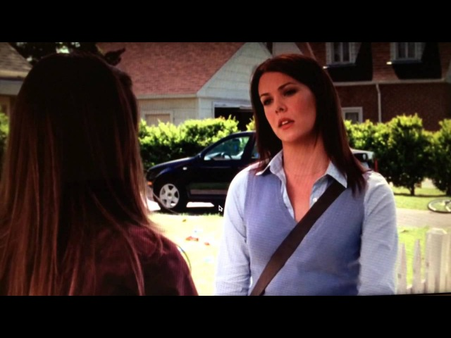 Funny moment on Gilmore Girls