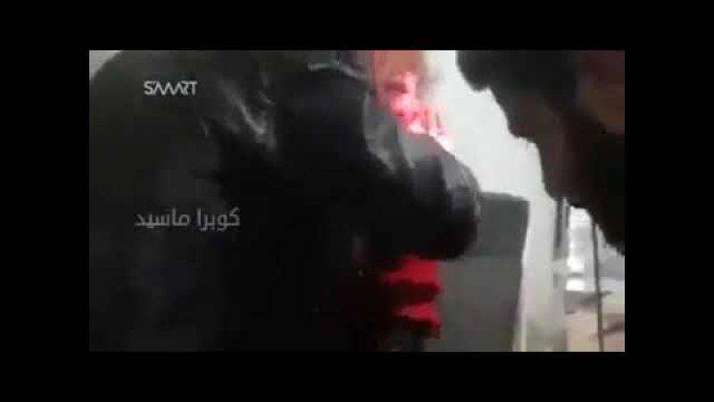Живую арабскую девочку режут на органы