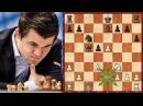 Шахматы. Карлсен - Со Чемпион Мира нарушает правила шахмат и создаёт шедевр!
