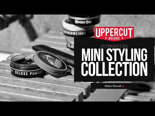 Uppercut Deluxe Mini Styling Collection Pomade Green Beacon Brewery