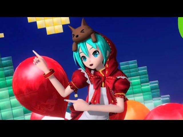 Hatsune Miku: Project DIVA Future Tone - [PV] Clover♣Club (Romaji/English Subs)