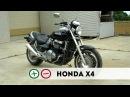 Honda X4 Плюсы и Минусы Чужой среди своих