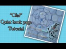 Quiet book page Olaf tutorial