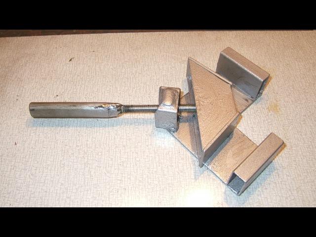 САМОДЕЛЬНАЯ УГЛОВАЯ СТРУБЦИНА. Homemade corner clamp. cfvjltkmyfz eukjdfz cnhe,wbyf. homemade corner clamp.