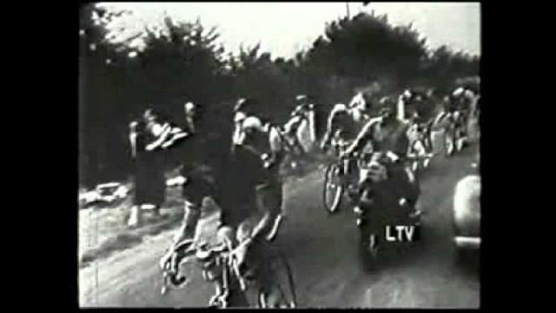 Tour de France 1950 Niort Magni