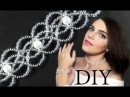 DIY Wedding EASY beaded choker necklace with pearls Свадебный чокер из бисера и жемчуга ЛЕГКО