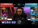 100 Thieves vs CLG   Week 1 Day 2 of S8 NA LCS Spring 2018   100 vs CLG W1D2 G3