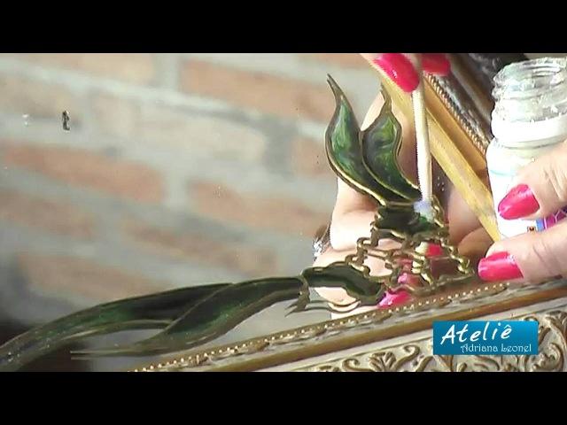 ADRIANA LEONEL - TÉCNICAS DE PINTURA EM VIDRO E ESPELHOS