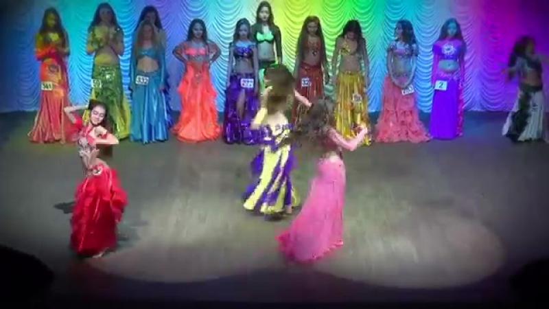 Belly Dance Improvisation ☀ Semifinal Solo ☀ Girls 14-15 yrs ☀ Ukraine Oryantal 19202