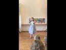Первое выступление в классе вокала