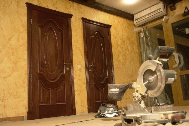 Рекомендации при установке межкомнатных дверей.