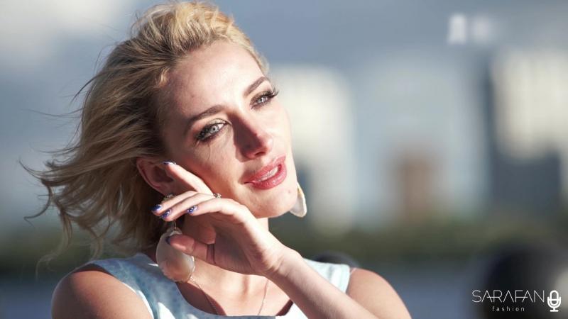 Екатерина Кузнецова в видео о любви и нежности. Проект Отражение от Sarafan Moscow