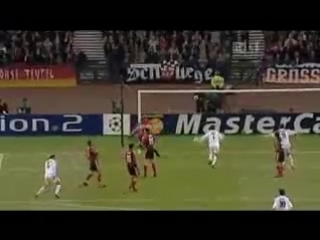 Легендарный ГОЛ Зинедина Зидана в Финале ЛЧ сезона 2001/2002 Реал - Байер