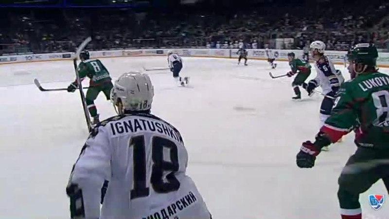 Моменты из матчей КХЛ сезона 14 15 Гол 1 5 Илья Крикунов Сочи оформил дубль 29 01