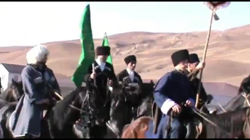 Конный переход на лошадях Кабардинской породы в КЧР, организованный Шууей Хасэ   ...   шууейхасэ адыгея кчр кбр кабардинска