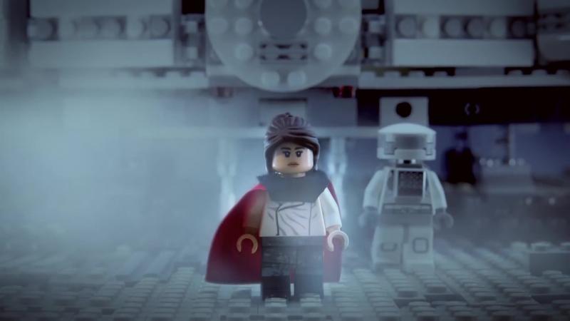 Хан Соло Звёздные Войны Истории Трейлер с использованием LEGO