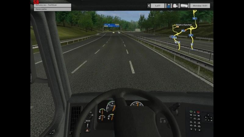 Euro Truck Simulator. Часть 1. Из Манчестера в НьюКастл