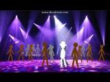 Bandicam ДЕМО - Лунная походка Майкла Джексона