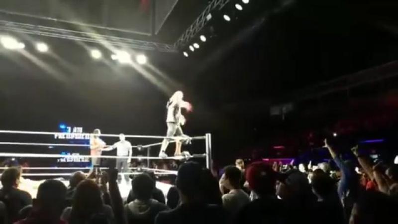 Smackdown Live Event AJ Styles vs Shinsuke Nakamura vs Randy Orton vs Jinder Mahal w Singh Brothers vs Sami Zayn Fatal 5-Way WWE