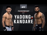 UFC Fight Night 122 Yadong vs Kondare