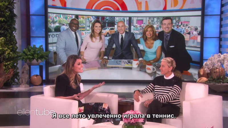 Savannah Guthrie Has Fun On and Off the Court with Today Show Co-Workers