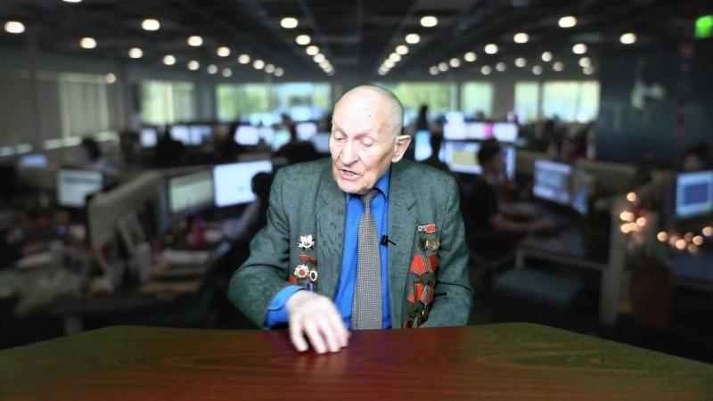 Участник ВОВ Александр Ефимович Дикарев вспоминает о войне