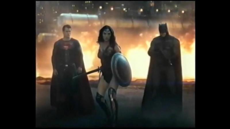 Бетмен против Супермена - трейлер VHS Version