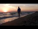 Закат...и пустой пляж...хорошее место не о чём не думать