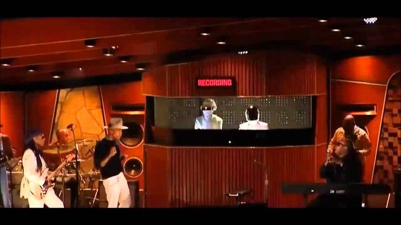 Daft Punk Pharell Williams Ft Stevie Wonder - Get Lucky Live At Grammys 2014 (DJ Sancho Edit)